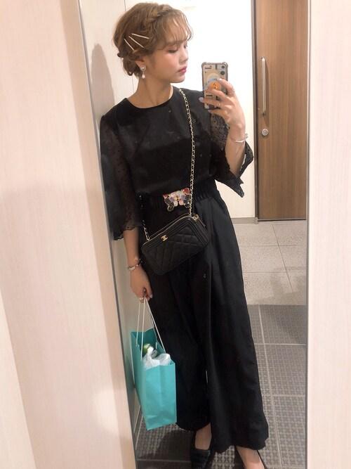 結婚式 黒ドレス