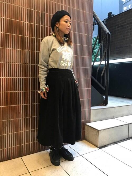 BEAVER渋谷店 もぎもぎ。さんの「(|)」を使ったコーディネート