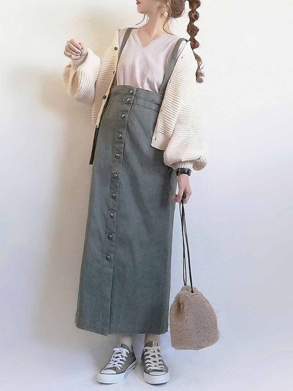 マタニティコーデ 30代妊婦 通販 Sweet mommy スカート 秋服