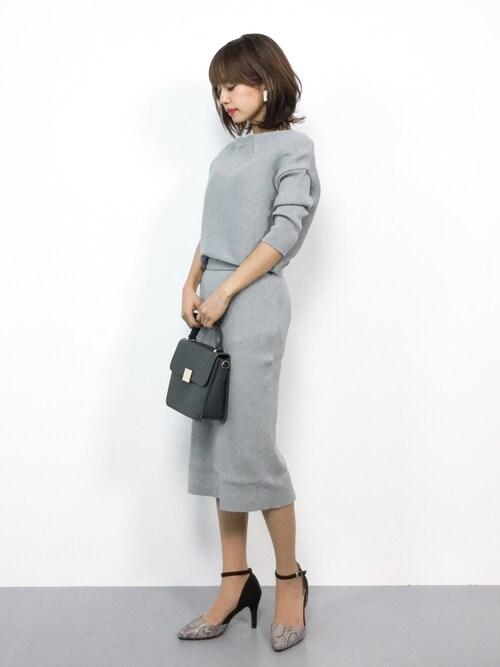 コンサバ園 よそいき 行事 セットアップスカート