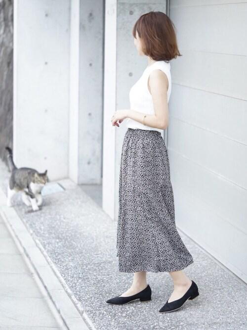 99005fc8020 erikoさんのスカートを使ったコーディネート - ZOZOTOWN