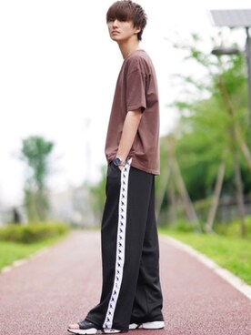 2b40857bf1 taiさんの「ベア天竺バイオウォッシュ半袖Tシャツ(TIMELY WARNING|タイム