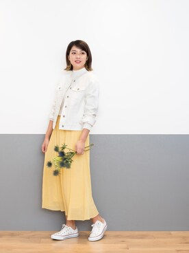 NATURAL BEAUTY BASIC|NBB STAFF 18さんの「【美人百花 3月号掲載】ノーカラーGジャン(NATURAL BEAUTY BASIC)」を使ったコーディネート
