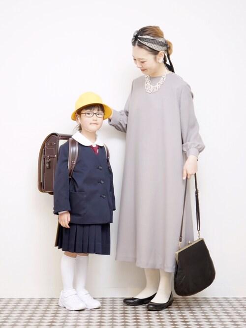 式 コーデ 入学