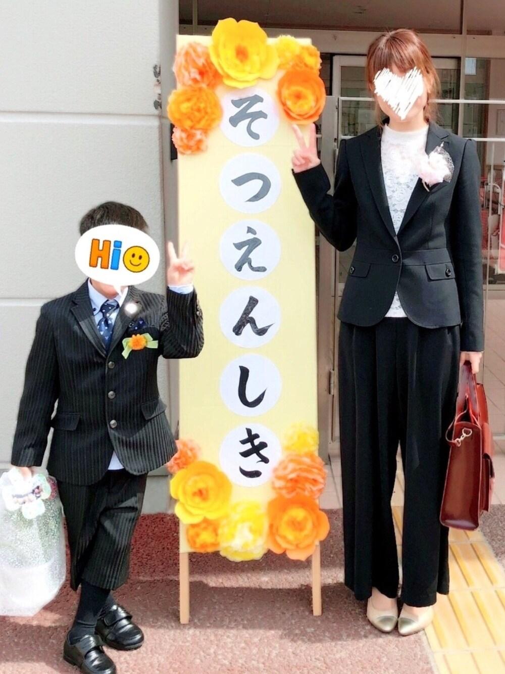 卒園式 卒業式  ママ おしゃれ スーツ