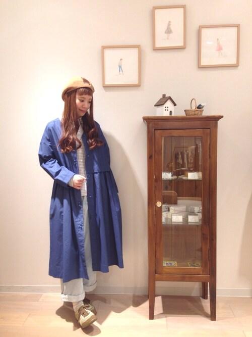 haupia新宿ミロード店haupia新宿ミロード店さんのデニムパンツ「あてのない散歩服。 パンツ(haupia|ハウピア)」を使ったコーディネート