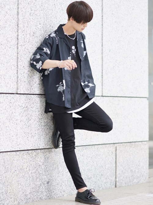 KEIさんの「バラシシュウビッグTシャツ(ADRER)」を使ったコーディネート