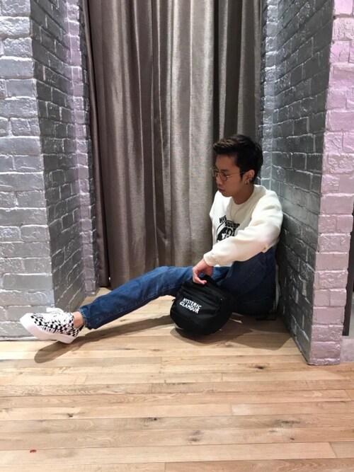 HYSTERIC GLAMOURミント神戸店TEPPEIYAMASAKIさんのネックレス「YOU PAY ネックレス(HYSTERIC GLAMOUR|ヒステリックグラマー)」を使ったコーディネート