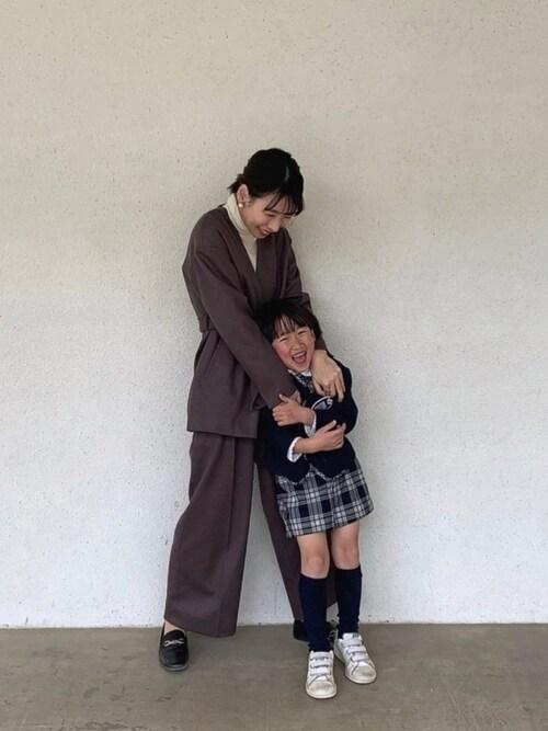 ZARA入園式ママコーデ
