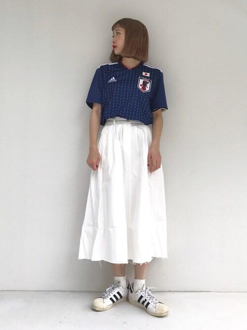日本代表コーデ