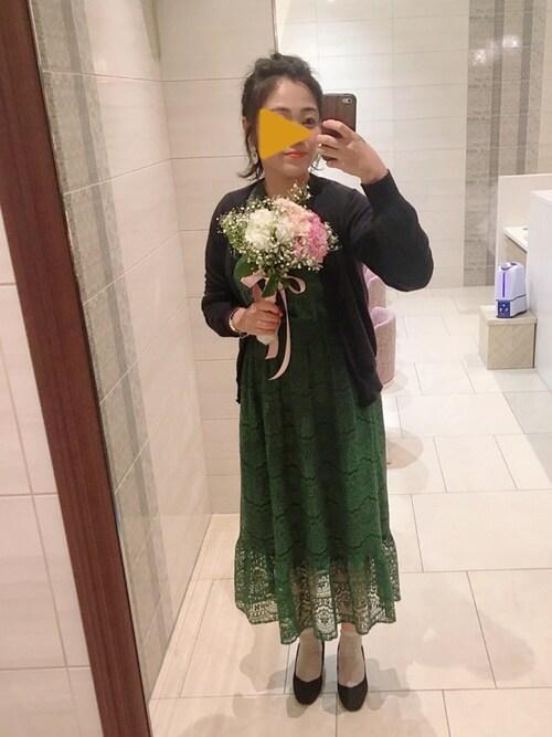 結婚式しまむらコーデ