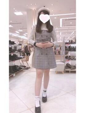 まゆぱ|Ank Rougeのスカートを使ったコーディネート , WEAR