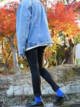 fea57f9b96821 ドレスシューズを使った「青ソックス」のコーディネート一覧 - WEAR