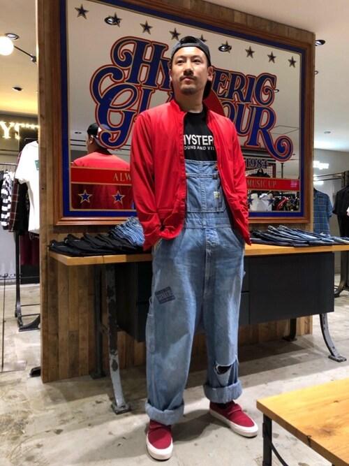 9a9311efe93118 HYSTERIC GLAMOUR阪急メンズ東京店hyshmt05さんのキャップを使ったコーディネート - ZOZOTOWN