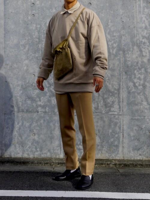 dさんの「Hender Scheme/エンダースキーマ/red cross bag small/レッドクロスバッグスモール(Hender Scheme)」を使ったコーディネート