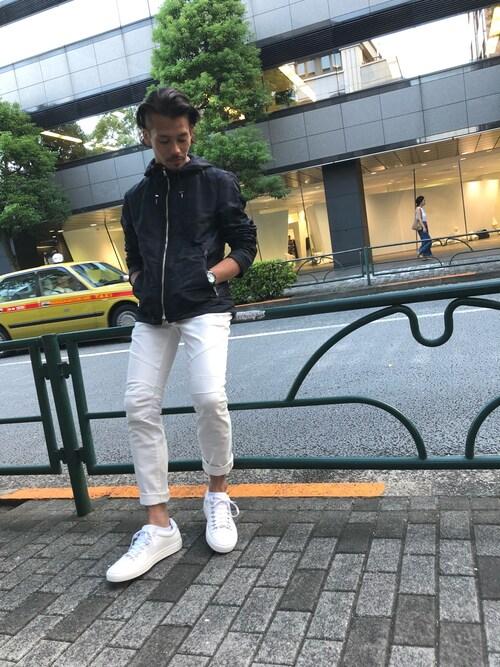 LOVELESS青山yamauchiさんのパンツ「【LOVELESS】バイカーズスキニーパンツ(LOVELESS ラブレス)」を使ったコーディネート