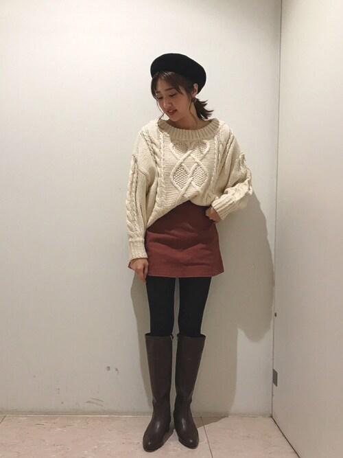 CAMILLE BIS RANDA ルミネ町田店haruka_hiroseさんの「(|)」を使ったコーディネート