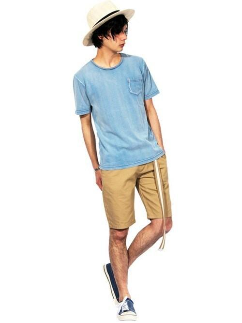 8(eight)8(eight)さんのTシャツ/カットソー「LOSANGELES ロゴ 半袖 Tシャツ (8(eight)|エイト)」を使ったコーディネート