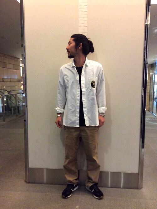 RAWLIFE 六本木店misoさんのシャツ/ブラウス「CAPRI/カプリ/skull pocket shirts(capri カプリ)」を使ったコーディネート