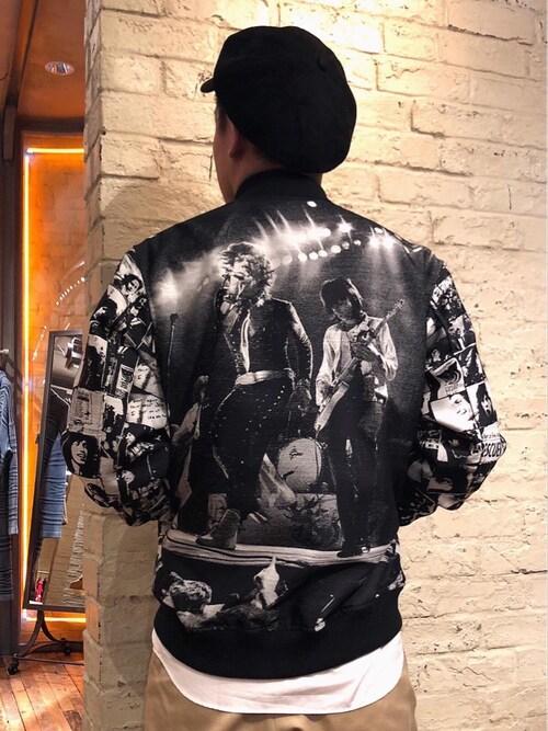 HYSTERIC GLAMOURルクア大阪店カンジさんのシャツ/ブラウス「ブロード長袖レギュラーカラーシャツ(HYSTERIC GLAMOUR|ヒステリックグラマー)」を使ったコーディネート