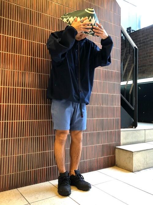 BEAVER渋谷店 ウルフサイキさんのブルゾン「BURLAP OUTFITTERS / バーラップアウトフィッターズ TEN THOUSAND パーカー(BURLAP OUTFITTER|バーラップアウトフィッター)」を使ったコーディネート