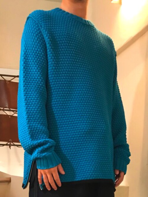 B'2nd 新宿sekiさんのニット/セーター「[TOTOMESS / トトメス] INSIDE OUT KNIT(TOTOMESS|トトメス)」を使ったコーディネート