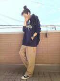 "k(ani) is wearing FREDRIK PACKERS ""【Fredrik Packers】500D Day Pack"""
