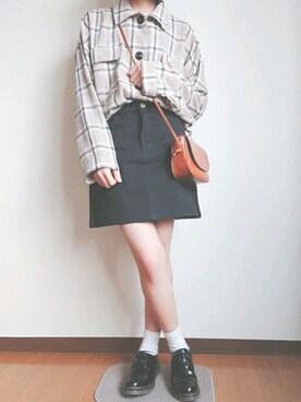 3a525071041e ショルダーバッグを使った「台形スカート」のコーディネート一覧 - WEAR