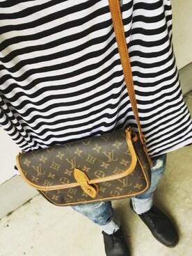 7df59515e277 LOUIS VUITTON(ルイヴィトン)のバッグを使ったメンズコーディネート一覧 - WEAR
