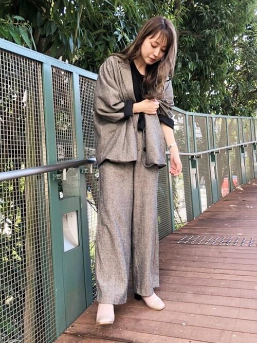 EVOL新宿マルイ本館EVOL PRESSさんのブーツ「【EVOL】 スクエアストレッチブーツ IN9066(EVOL イーボル)」を使ったコーディネート