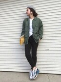 "miisuuzuukii is wearing BEAUTY&YOUTH UNITED ARROWS ""<ROTHCO>BDUジャケット"""