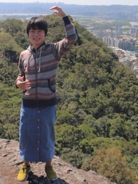 568f120347 デニムスカートを使った「登山コーデ」のコーディネート一覧 - WEAR