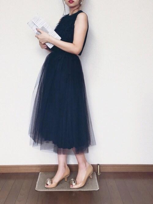 結婚式コーデ夏