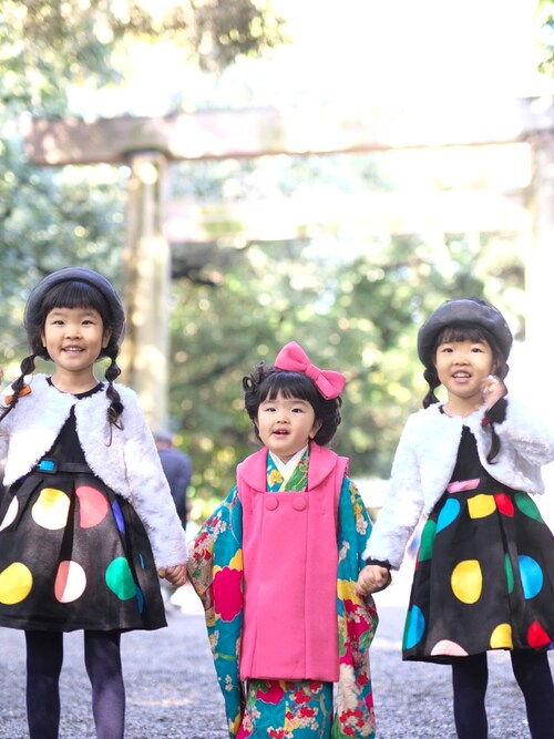 A♡K♡Fさんの(韓国子ども服)を使ったコーディネート