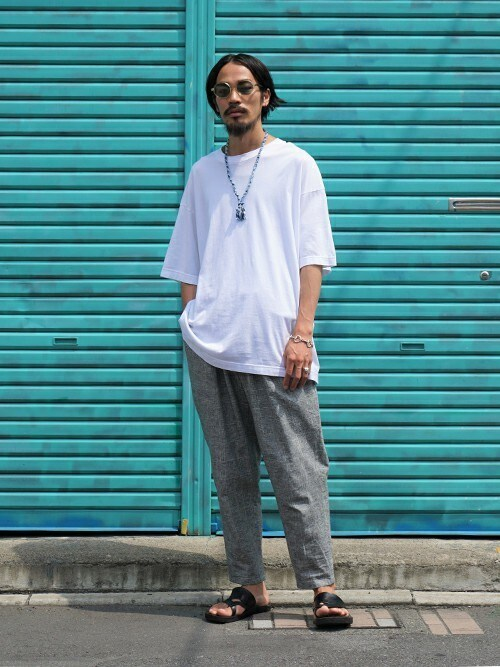 ARKnets STAFFさんの「Glen check easy trousers(PORT BY ARK)」を使ったコーディネート