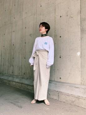 36102459253eb マフラー・ショールを使った「韓国ファッション」のレディースコーディネート一覧 - WEAR