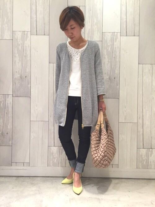 www.Q shop.jp Qひたちなかファッションクルーズ店マイコバさんの「(|)」を使ったコーディネート