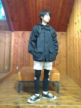 a23a03487b ミリタリージャケットを使った「登山コーデ」のコーディネート一覧 - WEAR
