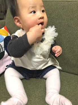 f23e27b4e18cb シャツ・ブラウス(ピンク系)を使った「赤ちゃんコーデ」のコーディネート一覧 - WEAR
