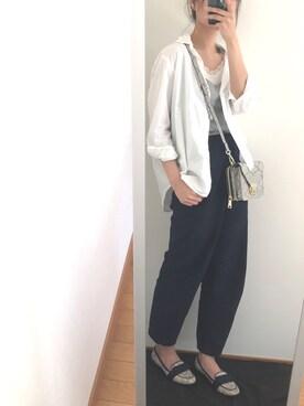 makaro2さんの「マーセレギュラーシャツ【niko and ...】(niko