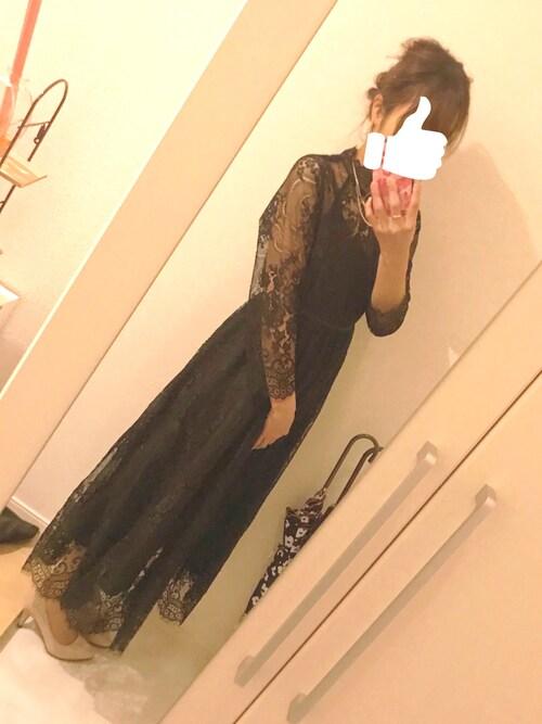 結婚式お呼ばれドレス 5月