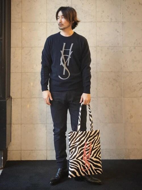 HYSTERIC GLAMOUR仙台店yamaguchi.fさんのブーツ「SKINNYショートブーツ(HYSTERIC GLAMOUR|ヒステリックグラマー)」を使ったコーディネート