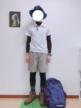 018e71f7db ソックス/靴下を使った「登山コーデ」のコーディネート一覧 - WEAR