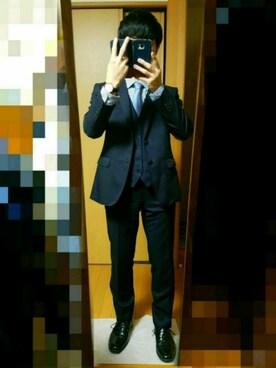 5d9b6eac4016 スーツ/ネクタイを使った「成人式」のメンズコーディネート一覧 - WEAR