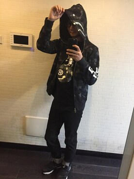 cb7ca93d6 Outfit ideas - How to wear 【A BATHING APE x NEIGHBORHOOD】BAPE NBHD ...