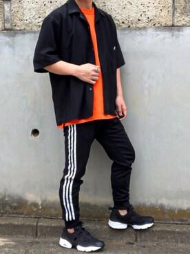 b95f703c856b75 kanataさんの「▽WEB限定 KANGOL/カンゴール 別注 リラックスオープンカラーシャツ(