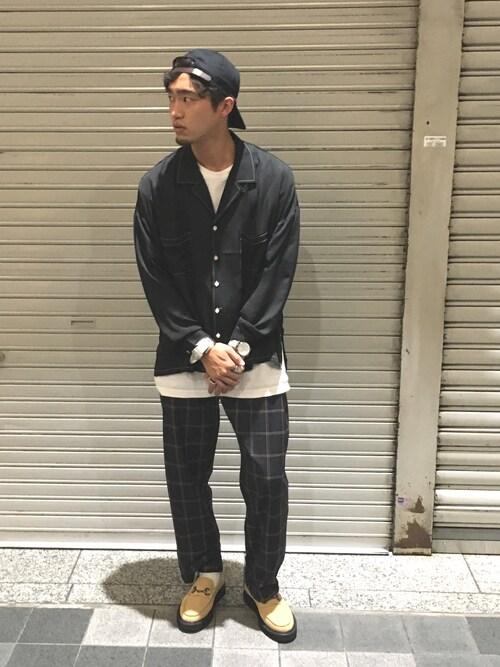 YAMAMOTO SHUTAさんの「ビットローファーラバーソール(WHO'S WHO gallery)」を使ったコーディネート