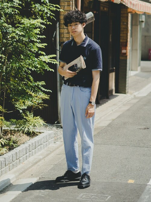 vivaceさんの「FRED PERRY / フレッドペリー M12N POLO SHIRT(FRED PERRY)」を使ったコーディネート