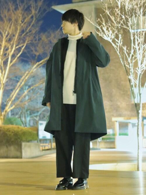 SHOTAさんのライダースジャケット「ラムレザーシングルライダース(UNITED TOKYO|ユナイテッドトウキョウ)」を使ったコーディネート