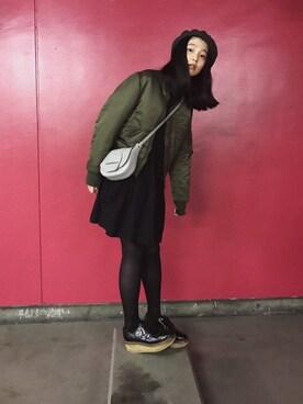e9c707eb506a1 ドレスシューズを使った「黒ワンピ」のコーディネート一覧(ユーザー:WEARISTA) - WEAR
